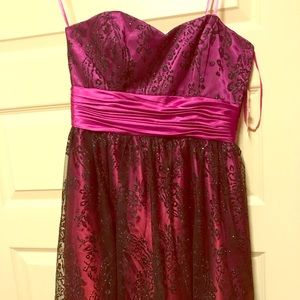 N V Couture strapless Party Dress Size 6